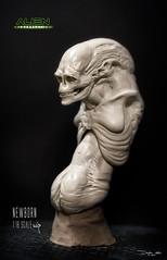 NEWBORN44 (sith_fire30) Tags: alien aliens resurrection newborn ripley clone studiadi sithfire30 dayton allen queen custom action figure sculpture sculpt art aves fixit avesstudio clay