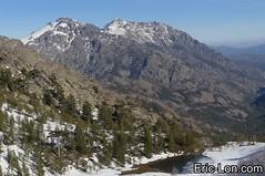 Corsica frozen lake Asco (18) (Eric Lon) Tags: corsica corse france island ile mountains montagne meretmontagne mareimonti pine pin laricio neige snow lac lake bath bain ice glace trek trekking ericlon