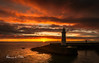 Morning Has Broken (RonnieLMills) Tags: morning has broken sunrise rising sun fiery clouds reflections donaghadee lighthouse