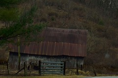 Tennessee Barn (New Expressions by the Old Christine) Tags: barn tn tennessee decay rural country backroads