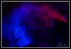 ColorSmoke_7988 (bjarne.winkler) Tags: light painting with humidifier two gel covered flashlights