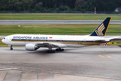 SINGAPORE AIRLINES B777-200ER 9V-SRP 001 (A.S. Kevin N.V.M.M. Chung) Tags: aviation aeroplane aircraft airport sin changi plane spotting singapore airlines apron