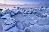 Exploring the Ice World (tinamar789) Tags: ice icy frost freezing frozen winter snow sea seashore seascape morning mist seasmoke rocks lauttasaari helsinki finland