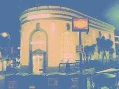 (sftrajan) Tags: gradientmap bank branch night edited 400castrostreet thecastro bankofamerica bankofitaly castrostreet marketstreet color 94114