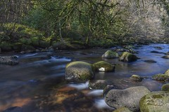 Dartmeet delights (Hoovering_crompton) Tags: riverdart east west dartmeet dartmoor longexposure tripod devon milkywater nikon d3300 dartmoornationalpark rocks water