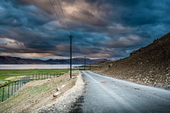 Winding Road (ashwaters77) Tags: travel adorama traveler india ladakh sky colors road mountains