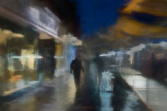 St Albans Market (RCARCARCA) Tags: lights night blue market stalbans painterly photoartistry yelloe people marksspencer 5diii canon lowlight evening 2470l bluehour