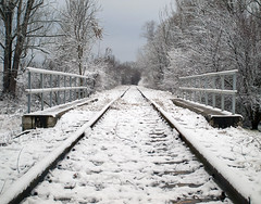P1148576 (Dreamaxjoe) Tags: snow winter hó budapest vasút railway outofservicerailroadtrack