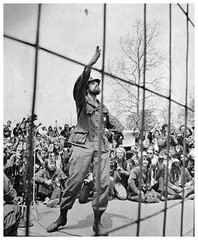 Vietnam veteran hurls medals in protest of the war: 1971 # 5 (Washington Area Spark) Tags: vietnam veterans against war vvaw operation dewey canyon iii indochina 1971 washington dc protest demonstration encampment us capitol rally toss medals ribbons discharge papers commendations throw trash