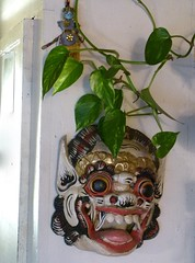 Barong & Shiva, Protectors (Room With A View) Tags: sculpture protection art barong shiva mask odc