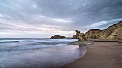 La Isleta al amanecer (zapicaña) Tags: cabodegata isleta playa beach arena sand agua water cielo sky nubes clouds rocas rock almeria andalucia mar marenostrum mediterraneo sea níjar amanecer