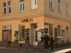 At a Street Corner in Ottakring (Wolfgang Bazer) Tags: déjà vu ottakring wien vienna österreich austria friseur frisör hairdresser strasenecke street corner stphotographia