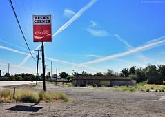 Enjoy Coca-Cola - Buck's - Eastern Oregon (Electric Crayon) Tags: abandoned buckscorner pacificnorthwest oregon umatillacounty usa unitedstates america decay sign cocacola electriccrayon patrickmcmanus