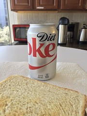 Diet Coke and Sandwich (moohoorta) Tags: iphone6 ios1125 lunch beveragedietcoke locationduoworks 2018 january 24th 180124 wednesday january24th
