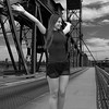 Feeling Like She Can Fly (Scott 97006) Tags: woman female lady bridge arms ourstretched