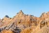 Sunlight on the Badlands (Pejasar) Tags: badlands nationalpark southdakota hills erosion lands color strata bluesky rock