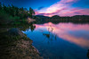 Sunset Forstsee (manuel.thaler) Tags: forstsee evening forest lake landscape nature noperson outdoors reflection sky sunset travel tree water carinthia austira