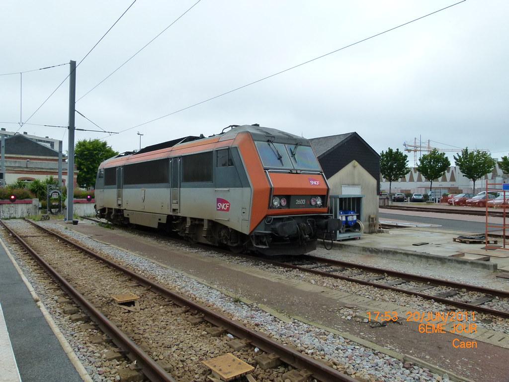 BB 26013 à Cherbourg sur le grill de réserve (thalyscc40110) Tags: sybic  26013