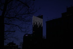 Early morning icicles (Quistian) Tags: building morning early toronto