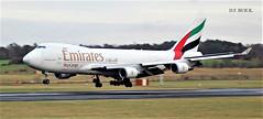 OO-THC BOEING 747-4HAF ER (douglasbuick) Tags: aircraft boeing b747400 cargo emirates air landing airplane egpk prestwick airport aviation flickr scotland airliner airlines airways dubai