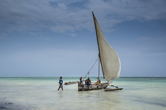 sail away (hph46) Tags: sansibar zanzibar tanzania africa eastafrica indischerozean indianocean küste coast sailingboat segelboot dhau sony alpha7r canonef2470mm14lisusm