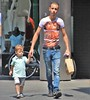 IMG_5424 (Skinny Guy Lover) Tags: outdoor people candid casualclothes dressedcasually guy man male dude dad father skinny veryskinny slender veryslender jeans bluejeans perfectbody belt leatherbelt nikeshoes nikes walking