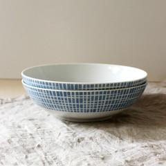 Arzberg. (Kultur*) Tags: vintage vintagehousewares white porcelain germany bavaria bavarian midcentury arzberg porzellan form2025 bluebowl dessertbowl heinrichlöffelhardt 1950s 1950sserving