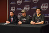 Hockey v Lowell -26 (dailycollegian) Tags: carolineoconnor umass amherst mullins center press conference umasslowell lowell shutout win matt murray niko hildenbrand coach carvel