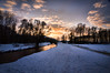 unhinged (Anna M. Sky) Tags: hdr landscape river snow winter austria trees tamron nikon longexposur sky clouds wideangle ultrawideangle