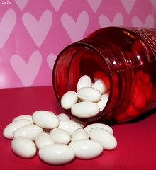 Heart Health (Lisa Zins) Tags: macro macromondays mondays february12 2018 canon sx150 powershot heart health valentines coq10 cardiovascular dietary supplement vitamin coenzymeq10 puritanspride puritancom energy antioxidant red white softgels inabottle webmd