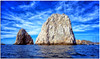 Rising from the Depths (fotografdude) Tags: cabosanlucas mexico float blue water clouds cliffs fotografdude sonyrx100