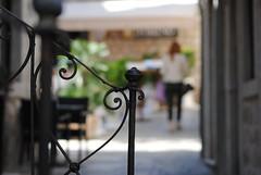 Railing (borneirana) Tags: pasamanos street streetphotography city life black green croacia