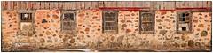 Five Old Barn Windows (J Henry G) Tags: wisconsinfarm farmwindows wisconsin pentaxk1 johnhenrygremmer oldbarns farming farminglife