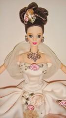 1996 Antique Rose Barbie (4) (Paul BarbieTemptation) Tags: 1996 antique rose barbie limited edition fao schwarz mackie fantasy
