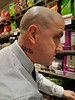 Story Behind His Tattoo (Kombizz) Tags: 115427 kombizz london 2017 mobilephonetaking mobilephonecapture faith candid portrait baldhead waitrose tattoo storybehindhistattoo johnlewisfoodhall charliemayfield paulanickolds departmentstores oxfordstreet marylebone w1c caraccident coma necktattoo freshproduce waitroseoxfordstreet hisneck