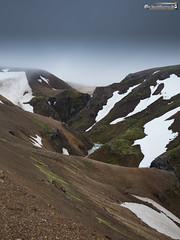 Just below the clouds (dieLeuchtturms) Tags: island regenbogen hochland suðurland kerlingarfjöll europa 3x4 europe highland iceland is