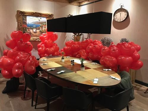 Heliumballonnen Hartballonnen Valentijnsdag Watertuin Spijkenisse