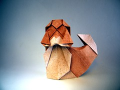 Shih Tzu - Seth Friedman (Rui.Roda) Tags: origami papiroflexia papierfalten dog chien cão cachorro perro shih tzu seth friedman