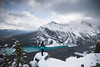 One of Those Moments (Willis H Lam) Tags: banff canada hiking little beehive lake louise winter travel alberta canon blue