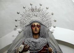 Virgen de la Paz (ameliapardo) Tags: imagenes virgenes templos fe creencias fujixt1 sevilla andalucia españa