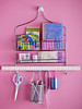 Repurposed Shower Caddy (Heath & the B.L.T. boys) Tags: repurpose organize office tools scissors hooks