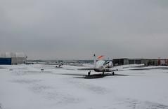 EGLK under a blanket of snow (lynothehammer1978) Tags: eglk bbs blackbushe blackbusheairport