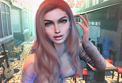 Liza in town (clau.dagger) Tags: insol catwa skin lashes stealthic hair collabor88 blueberry maitreya drd fd applefall chatnoir secondlife fashion avatar
