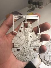 20180111_213216368_iOS (FarFarAway_ScaleModels) Tags: starwars sw episode7 tfa theforceawakens millenniumfalcon milennium jakku destroyer scalebuild modellkit model makett diorama scratchbuilt scratchbuild kitbash