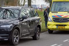 11022018-4283 (Sander Smit / Smit Fotografie) Tags: borgenweg stadskanaal ongeluk verkeersongeluk letsel aanrijding verkeer botsing hulpdiensten