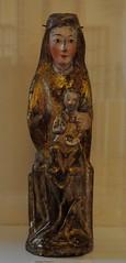 Astorga (León). Museo de los Caminos.Virgen sedente, siglo XII. Procede de Quintanilla de Losada (santi abella) Tags: astorga león castillayleón españa museodeloscaminos palacioepiscopaldeastorga
