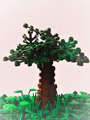 Tree Design (Ferdinand Tunnelley) Tags: lego tree green brown effects plant landscape leaves trunk dark light