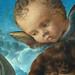BELLINI Giovanni,1487 - La Vierge et l'Enfant entre Saint Pierre et Saint Sébastien (Louvre) - Detail 48