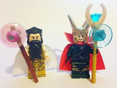 Something Strange... (David$19) Tags: lego legomarvel marvel marvelcomics loki doctorstrange sorcerersupreme legocustomminifigures legocustomminifigs legocustomloki legocustomdoctorstrange customlego legophotography legophoto superheroes supervillains villains toys minifigures davids19