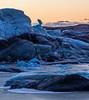 Sunrise at 10.52 am (katrin glaesmann) Tags: austurland island iceland svínafellsjökull unterwegsmiticelandtours photographyholidaywithicelandtours clouds colours winter snow ice glacier sunrise